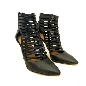 Nine West Bessy Caged Booties